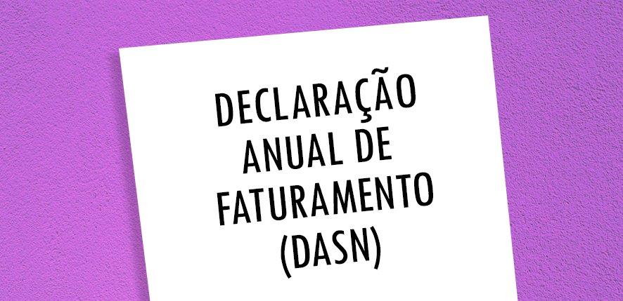 """Declaração de Faturamento DASN – SIMEI: """"em atraso"""""""